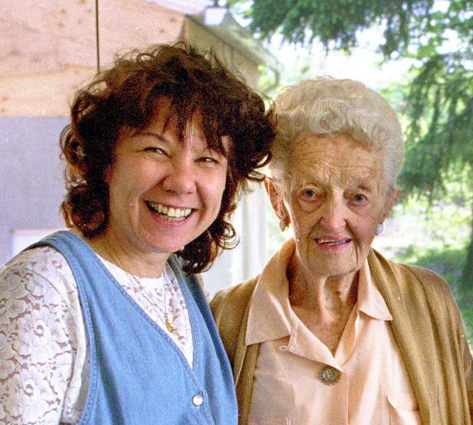 Loretta and Edith.