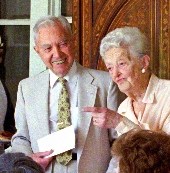 Ray Quinlan and Edith Foss.