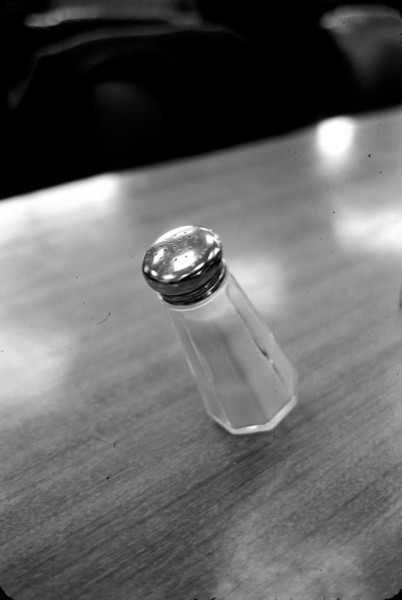 An impromptu experiment in anti-gravity.