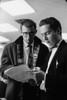Walt Blum, pre-med, and Denis Cullinan.