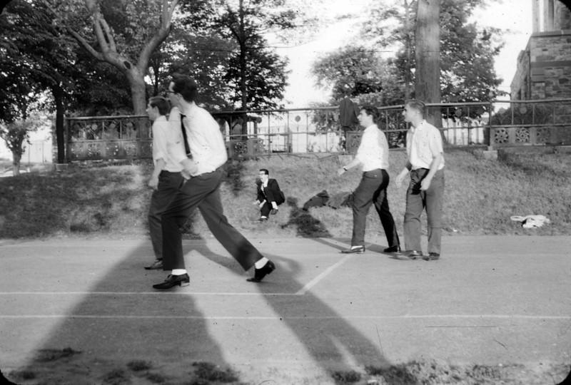 John Herban, Joe Hennessey, Al Grippo, me, Bill Ferrando.