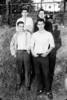 Rear: Bruce Gerken, Joe Hennessey.  Front: Bill Ferrando, me.