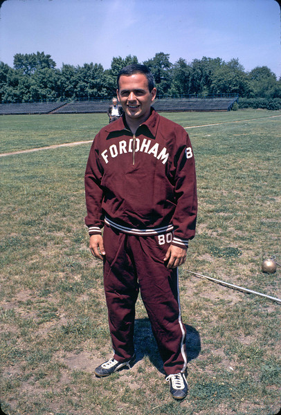 Bill Kammer.  Coach Brown is in the background.  The latter used to chew tobacco, to the displeasure of certain persons.