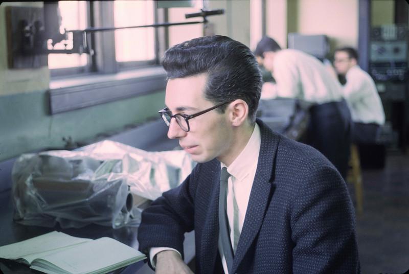 Joe Hennessey, Physics 1964.