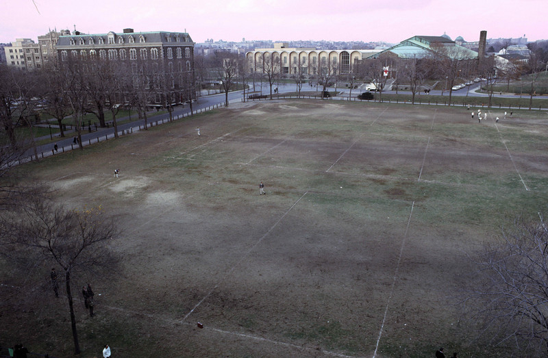 Edwards Parade Ground as ssen from Keating Hall.