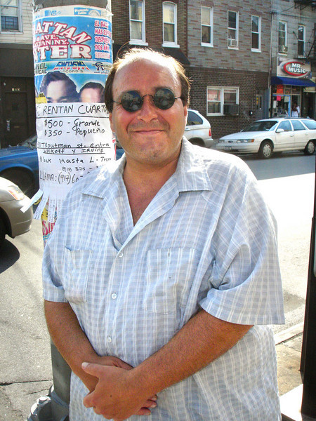It was a warm but not unpleasant July day.  I met Big John, the stand-up comic, on Wyckoff Avenue, across the street from Ronnie's.
