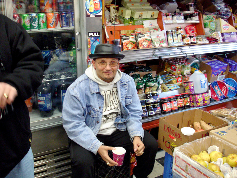 My neighbor Louie from up the block (calle arriba).  Dec. 30, 2004.