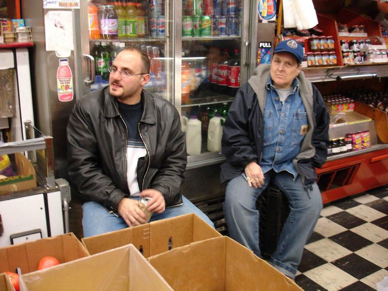 Left: Anthony.  Right: Sandy. Nov. 11, 2005.