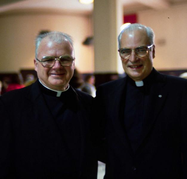 Fr. Gribbon and Fr. Bleilevens.