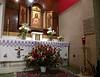 The Blessed Sacrament altar.