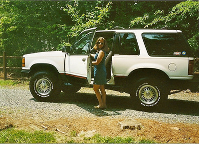 Off-roading In the mid 1990's
