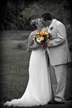 Shannon & Bobby Kissing