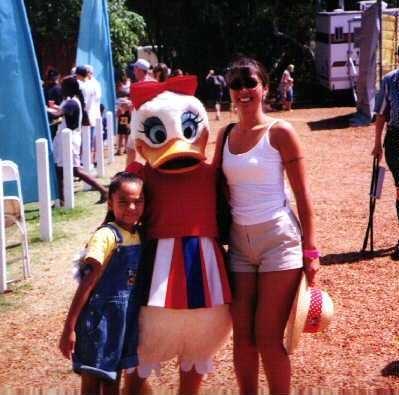 Jen & Liv at Disney Picnic - July 1999