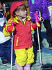 Tina's first ski outing, New Year's Day 2001, age 4 and two weeks