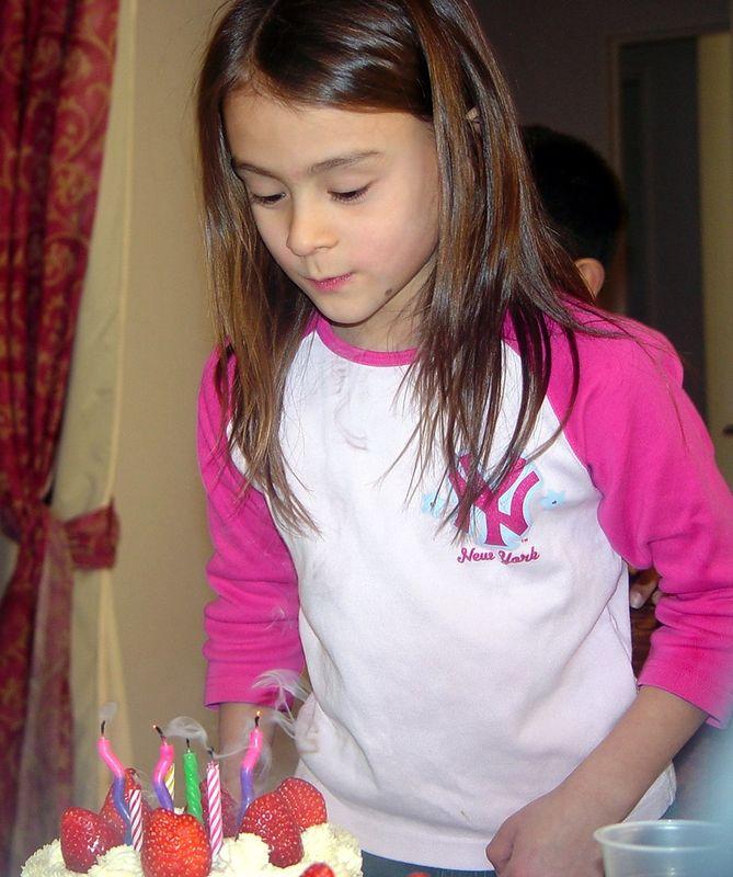 Tina's 8th Birthday Party, 12/18/04