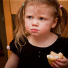 """Miraed:  """"Hey, this cupcake doesn't have any frosting!"""""""