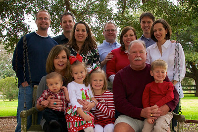 Group Family Photos Xmas 2013