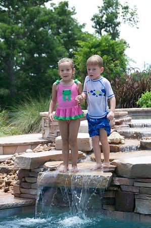 Fun in the Pool July 2013