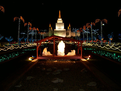 2014-12-20 Oakland Temple Christmas Lights