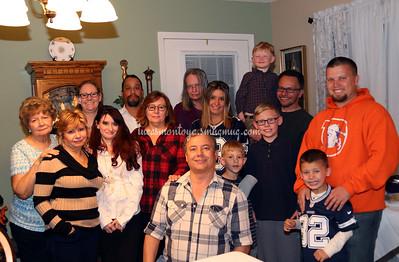 2016 Thanksgiving - Barbara's Home