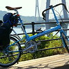 My bike at Tatara Bridge