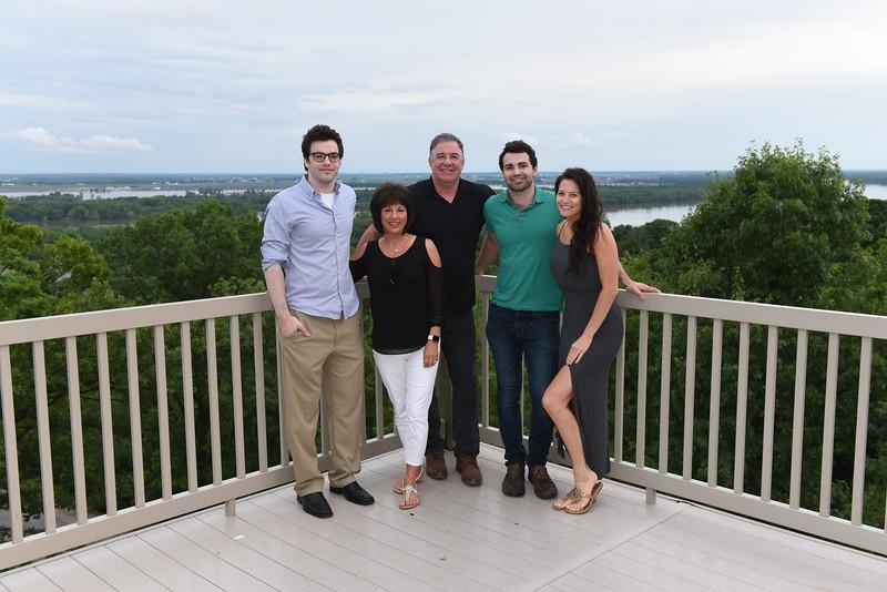 Chris & Brenda Lorton Family w/ George, Brenda, Chris, Michael & Jenna. Missing Katy