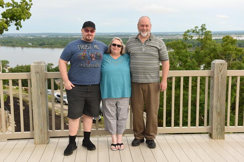 (Jan's) Ken & Lee Norton Family (l-r) Chris, Lee, Ken