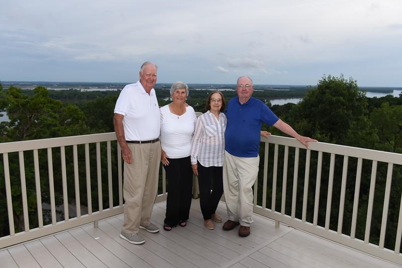 Bill & Jan w/ long-time friends Jack & Kathy Fayhee