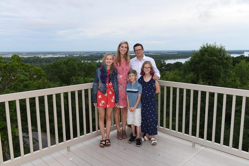(Jeff's) Laef & Allison Lorton Family w/ _____, Allison, Tate, Laef, & _____