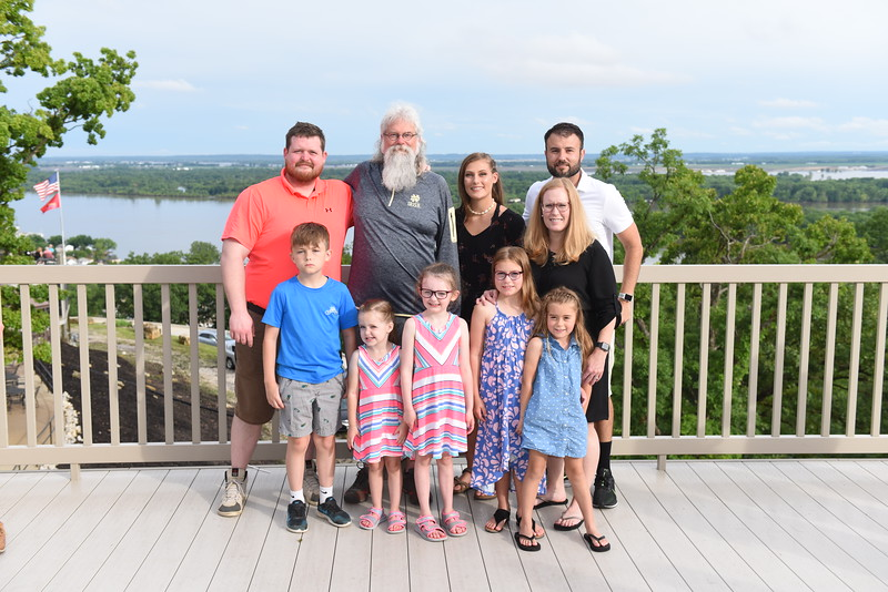 (Bill's) Wm Bruce Lorton II Family w/ Bill, Steven, Bruce, Natalie, Cecilia, Deidre, Logan & Andrea, Elsa & Paige