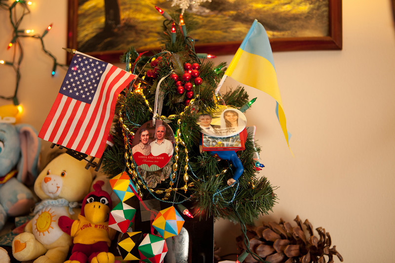 The Christmas tree will need to be bigger next year.  I don't think that there is enough room for Alice's gifts.