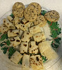Lefse and Toren's mint chocolate chip cookies