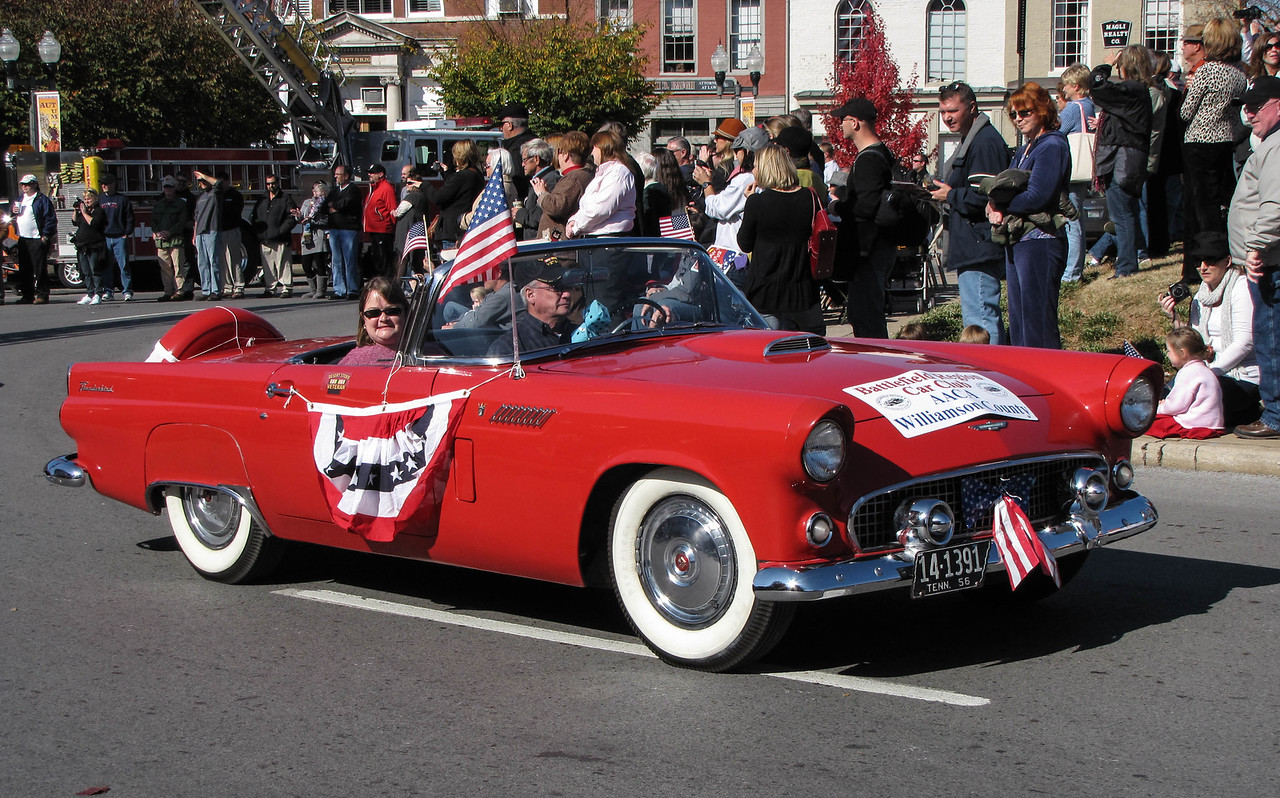 Veteran's Day Parade in Franklin