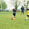 Cate controls the ball!