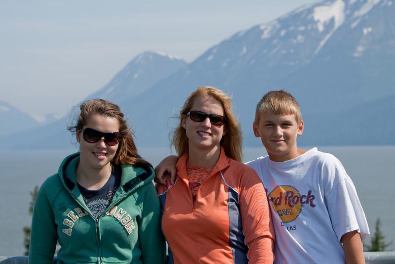 Regan, Jen and Ryan at Bird Point.