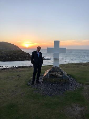 Andy Deutschmann on the Isle of Man 2018