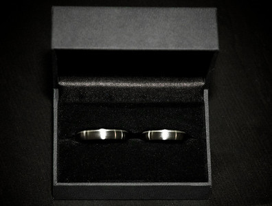 Our wedding rings.
