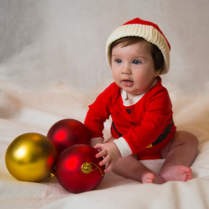 Beckett's first Christmas 054