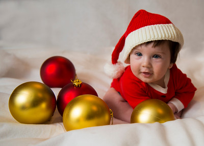 Beckett's first Christmas 061