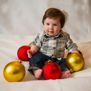 Beckett's first Christmas 092