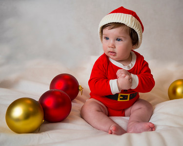 Beckett's first Christmas 051