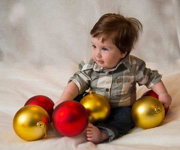 Beckett's first Christmas 097