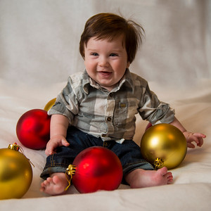 Beckett's first Christmas 093