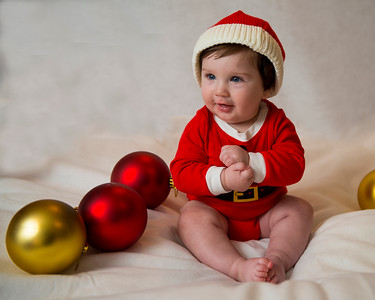 Beckett's first Christmas 049