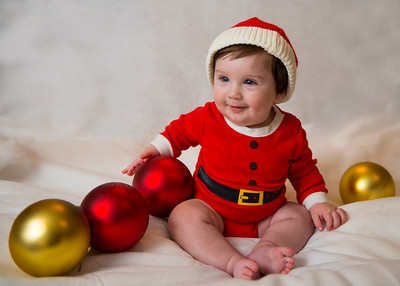 Beckett's first Christmas 053