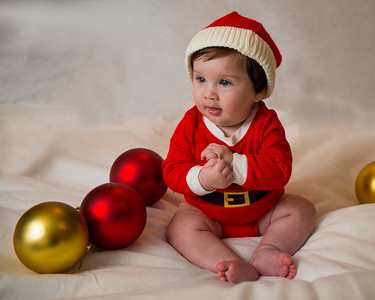 Beckett's first Christmas 047
