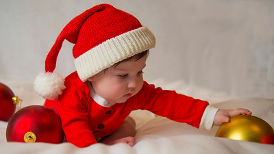 Beckett's first Christmas 034