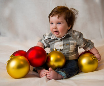 Beckett's first Christmas 098