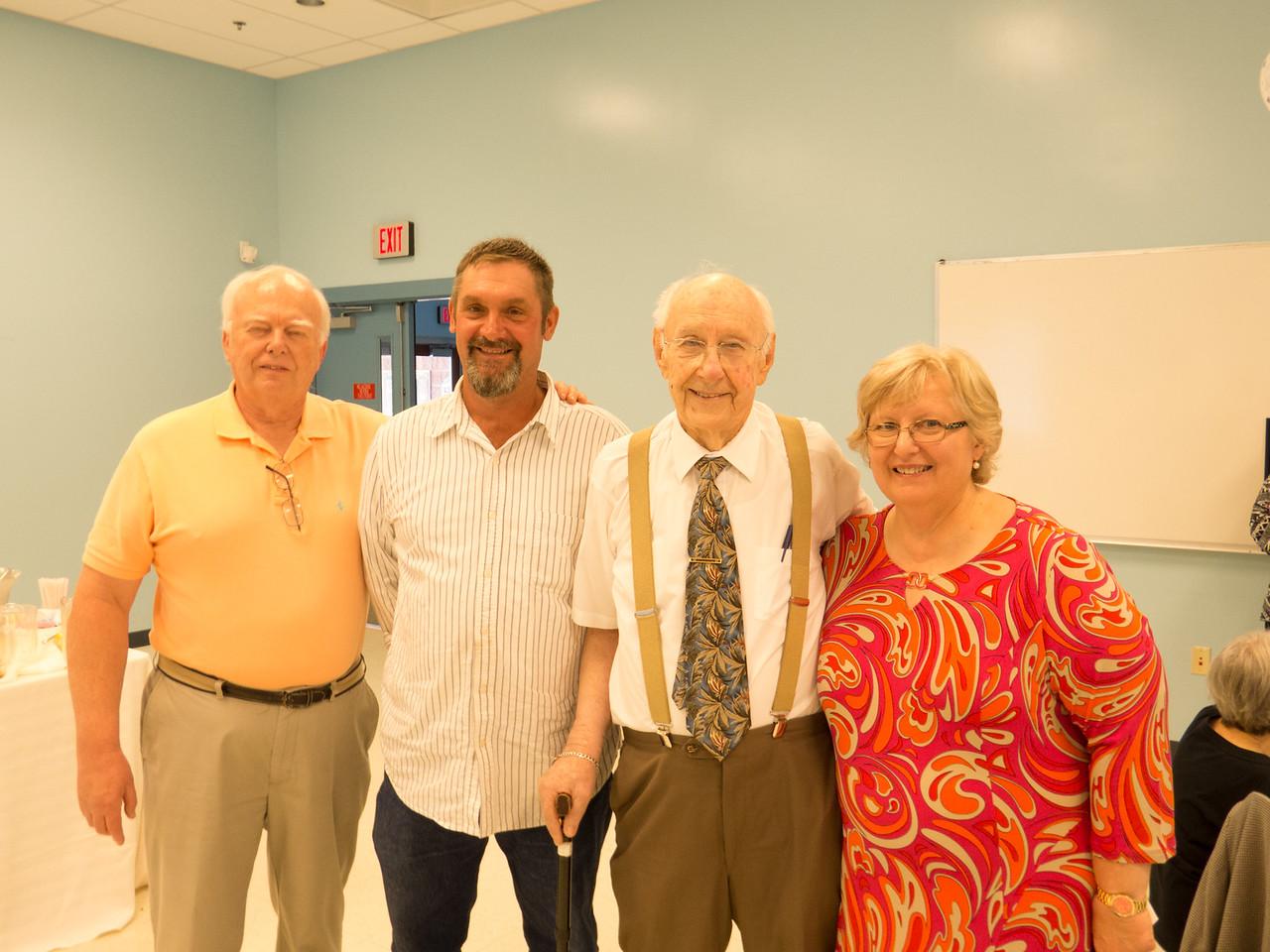 Ron, BJ, Bernie, Patricia