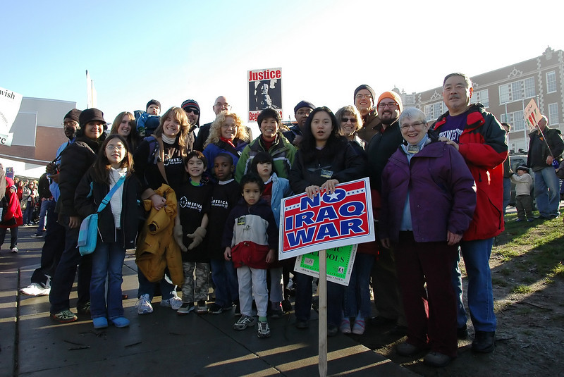 Bethany UCC members at Martin Luther King march 1-19-09